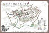 杭州卡通地圖設計動漫導覽圖設計酒店景區卡通地圖設計