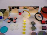 厂家直销 光学镜片610nm-850nm双带通滤光片红外测距仪专用滤光片