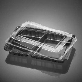 3格快餐盒 透明快餐盒 BOPS餐盒