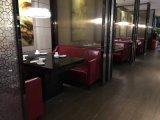 全皮沙发卡座,茶餐厅家具