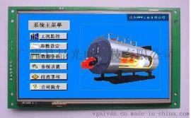 锅炉控制器的触摸屏人机界面,广州易显触摸屏人机界面在锅炉控制器的应用,锅炉控制器系统开发