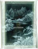 上海鐳射內雕工藝玻璃加工 發光玻璃 3D玻璃