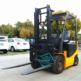 现货销售2吨2米全电动座驾式堆高车四支点液压叉车电瓶装卸拖车