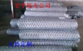 六边形镀锌铁丝网 喷浆护坡用六角铁丝网