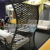 武汉商场定制拉网铝单板 环保网格铝单板 形状可定制