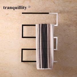 不锈钢电热浴巾架 弓形方管不锈钢电热毛巾架