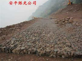 镀锌铅丝石笼网 海堤防护用石笼网 防汛格宾石笼网