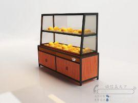 新款热卖面包展示柜中山厂家直销可定制