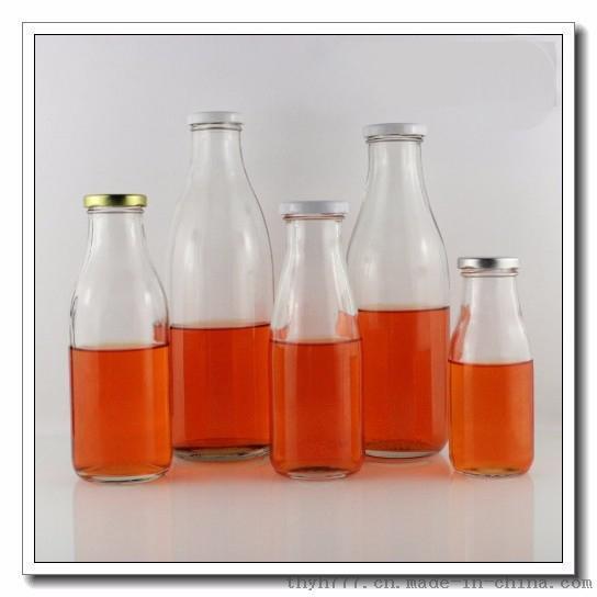 300ml-1000旋蓋玻璃奶瓶,出口內貿玻璃瓶