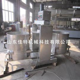 双桶液压压榨机 郑州辣椒压榨机