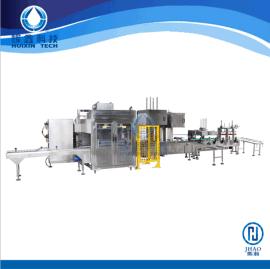 双头灌装机 自动进桶 自动放盖压盖 水性涂料自动灌装线 灌装设备