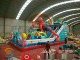 黑龍江牡丹江戶外大型充氣城堡滑梯兒童遊樂