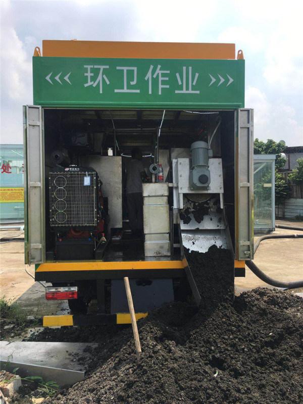 环保吸污净化车 分离式吸污净化车
