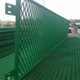 钢板网护栏 钢板网围栏 冠顺高速公路防眩网-4.5