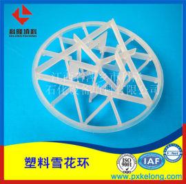 DN95PP雪花环 塑料雪花环适用于环保脱硫塔