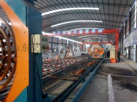 钢筋笼自动成型机 全自动钢筋笼滚焊机