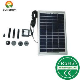 12V5W太阳能花洒太阳能直流喷泉微型水泵