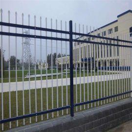 农村院墙围栏 庭院隔离金属栅栏 锌钢护栏厂家