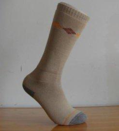 毛圈运动袜