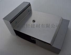 南京变形缝厂家生产金属盖板墙面转角型