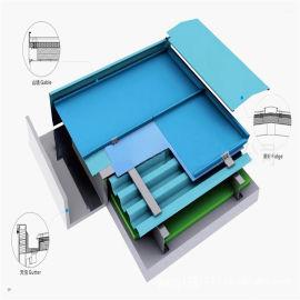 名宿屋面 25-330铝镁锰屋面板 0.8mm厚