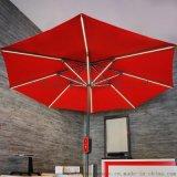 LED戶外傘、太陽能發電led庭院傘、LED陽傘