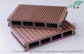 肇庆杰袖塑木地板立柱花箱实心地板