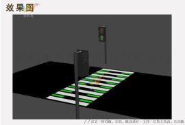 人行横道发光地砖 地埋式交通信号灯 红绿灯