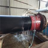 鄭州 鑫龍日升 國標密度發泡聚氨酯保溫管優質PE外護管dn32/42熱力工程