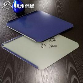 鱼鳞板 平锁扣铝镁锰屋面板系统 400菱形屋面板