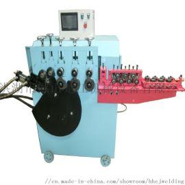 湖南扁钢法兰卷圆机 镀锌板V槽U槽桶箍打圈成型机