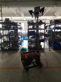 隆业供应-大型移动照明车自动升降工作灯