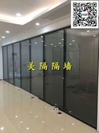 深圳5A办公室高隔墙/办公百叶高隔断