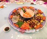 景德镇定做十个人用餐的大盘子 一米直径特大盘子
