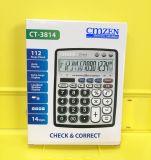 CMZEN CT-3814 12位查數電子計算器 出口計算器