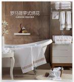 五星級酒店毛巾純棉加厚白色大毛巾擦洗臉賓館美容院定製