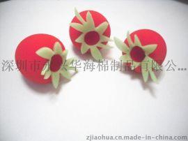 深圳市永兴华海棉专业生产音箱海棉球等异形棉