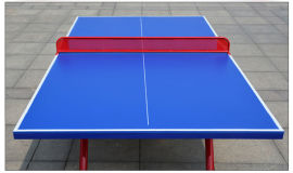 优质室外SMC乒乓球台 户外大翻边乒乓球台