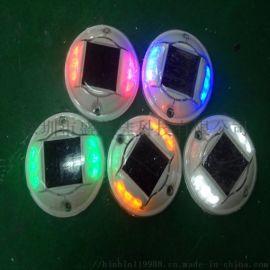 太阳能道钉灯铸铝道钉灯景观地埋灯太阳能捕鱼灯鱼船灯警示柱灯
