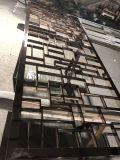 电镀不锈钢黑钛镜面屏风,不锈钢镀色厂,不锈钢制品