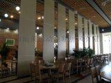 曲靖酒店活動隔斷懸吊式摺疊門吊軌式屏風專業