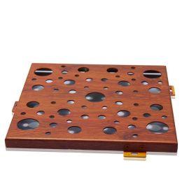 衝孔鋁單板廠家直銷幕牆裝飾材料穿孔鋁單板規格定制