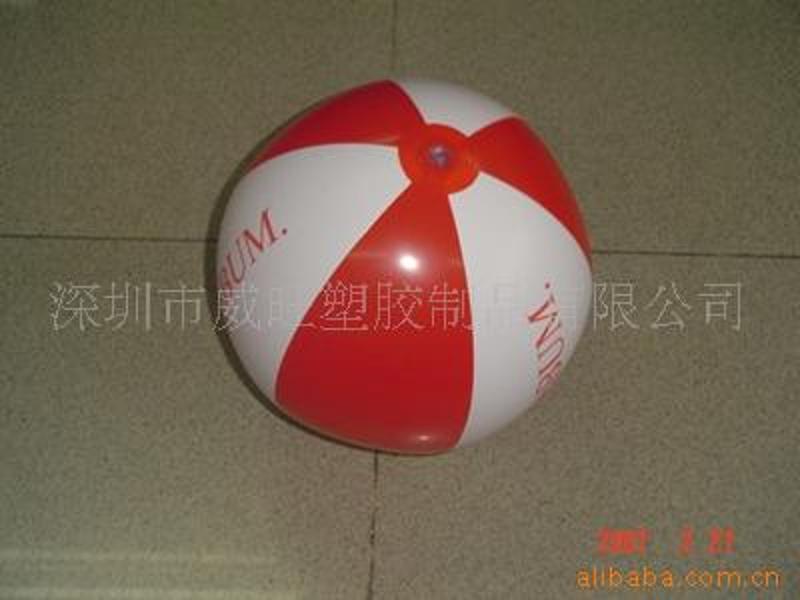深圳威旺生产PVC充气沙滩球