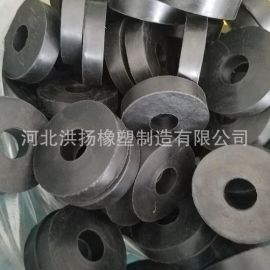 生产 圆形橡胶减震垫 耐油橡胶密封垫 圆形橡胶缓冲垫片 可定做