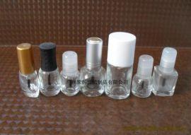 透明玻璃指甲油瓶 - 1