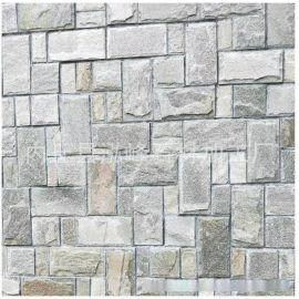 灰石英板岩蘑菇石 外墙湿贴蘑菇石 外墙干挂蘑菇石 蘑菇石面砖