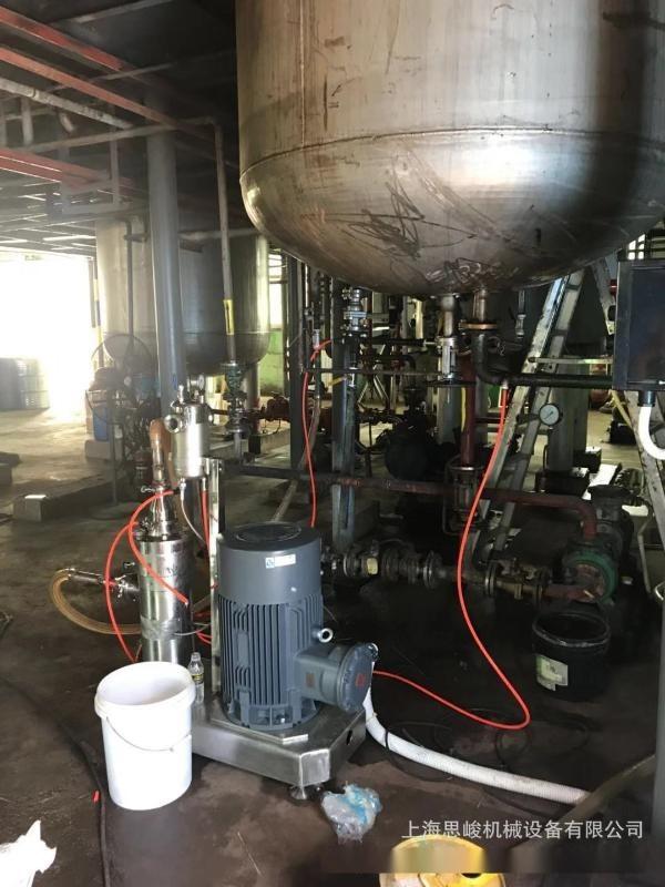 厂家直销 SGN/思峻 连续生产 GRS2000系列超高速管线式乳化机