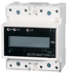 YN100 单相导轨电能表 导轨式电能表多功能电力仪表带电流电压表
