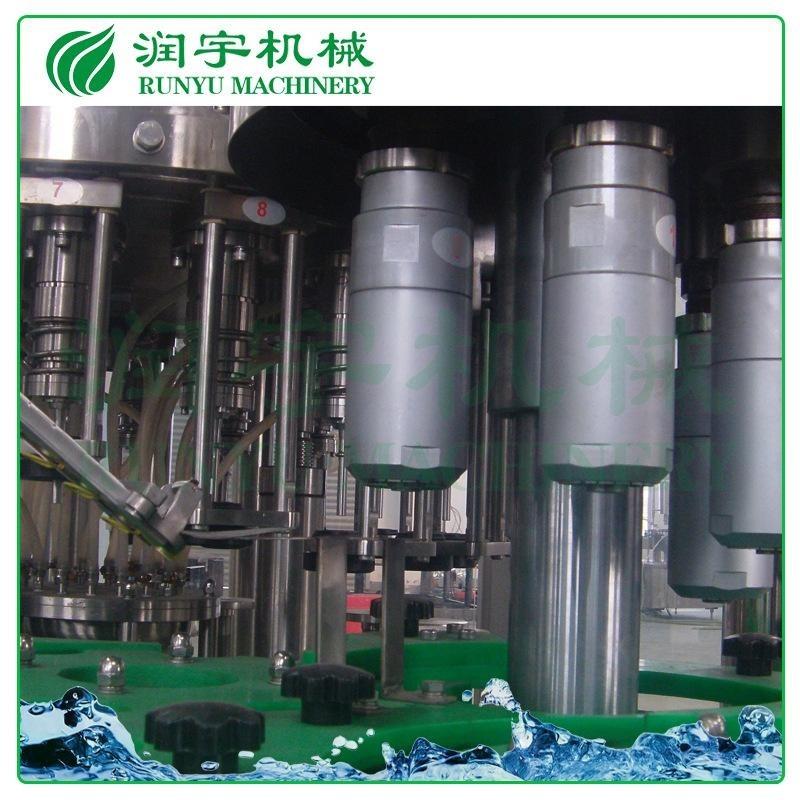 润宇机械厂家直销果汁饮料灌装机,易拉盖果汁灌装机