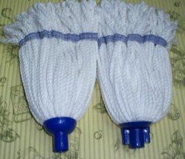 专业生产各种克重的超细纤维海岛丝蜈蚣绳拖把头